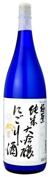 極聖 純米大吟醸 にごり酒 1800ml