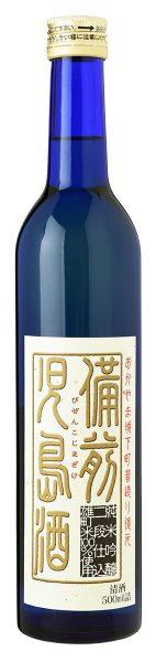 純米吟醸 二段仕込 雄町米100% 備前児島酒 500ml