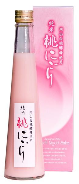 岡山白桃酵母使用 純米桃にごり 300ml