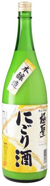 極聖 本醸造 にごり酒 1800ml