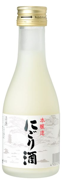 極聖 本醸造 にごり酒 180ml