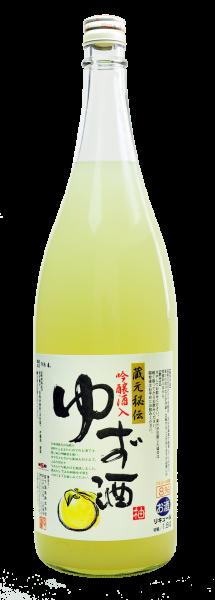 蔵元秘伝 吟醸酒入 ゆず酒 1800ml