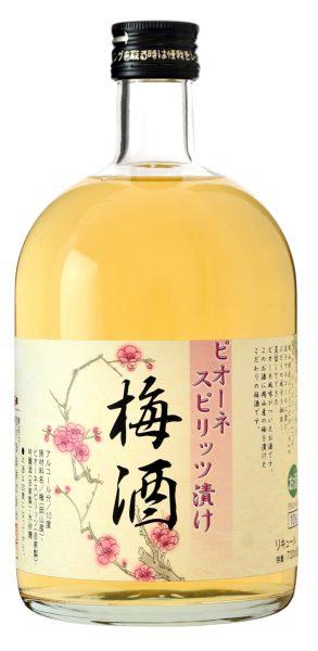 ピオーネスピリッツ漬け梅酒 720ml