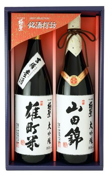 極聖 大吟醸山田錦・大吟醸雄町米2本セット M100