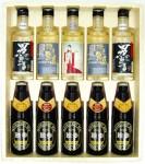 地酒・地焼酎・地ビール バラエティセット UOB52 (クール便指定)