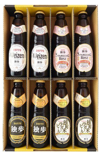 地ビール独歩 飲み比べ8本セット POWS-8E(クール便指定)
