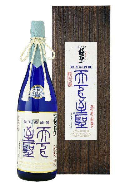 極聖 純米大吟醸 天下至聖 昔搾り 斗瓶どり 1800ml