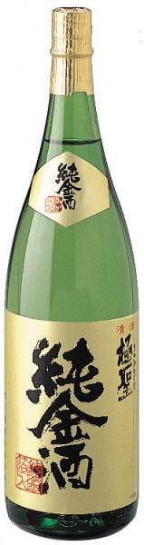 極聖 本醸造 純金酒 1800ml