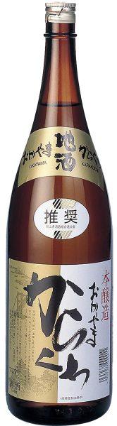 極聖 本醸造 岡山からくち 1800ml
