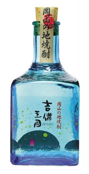 本格米焼酎 吉備王国アート瓶 300ml