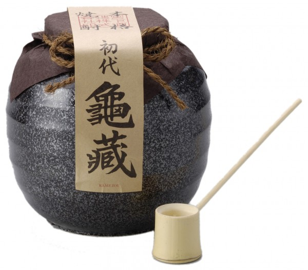 シェリー樽貯蔵本格米焼酎 初代亀蔵 1800ml