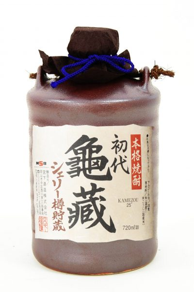 シェリー樽貯蔵本格米焼酎 初代亀蔵 720ml