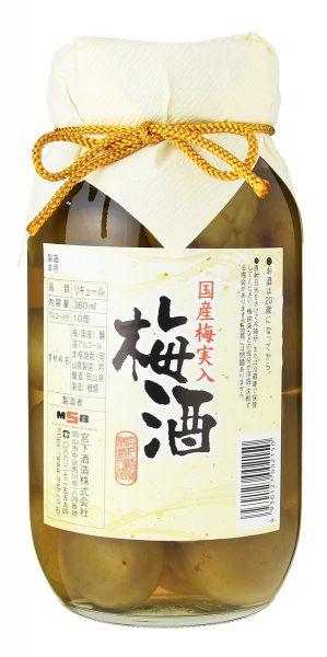 梅実入 梅酒 750ml