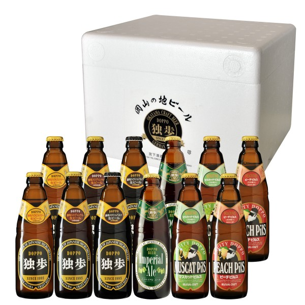 地ビール独歩 飲み比べ12本セット PDS-12IPM(クール便指定)