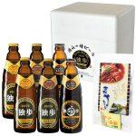 お中元ギフト 地ビール独歩 6本・うなぎセット(送料込み、クール便指定) P2D2S2